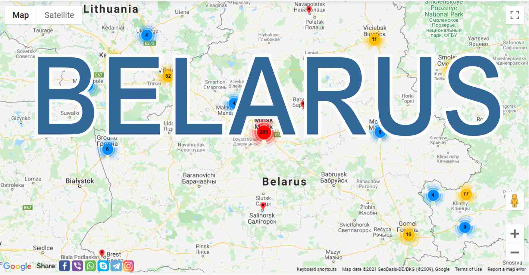 Belarus: what to see in different cities, what are they