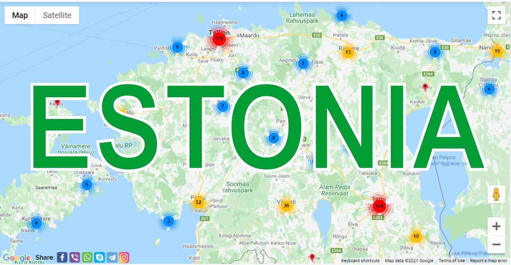 Estonia: what to see in different cities, what are they