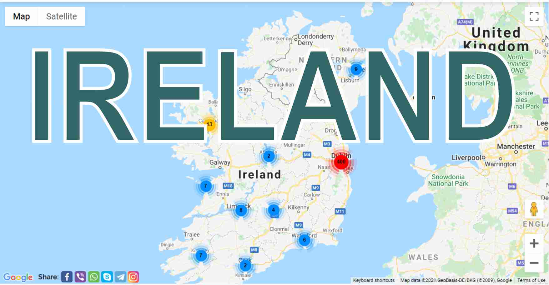 Ireland: what to see in different cities, what are they