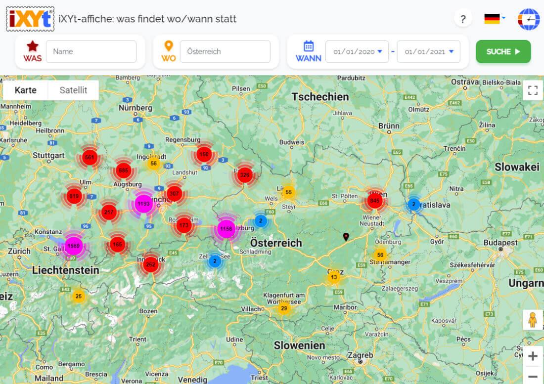 Österreich: Was ist in verschiedenen Städten zu sehen, was sind sie?