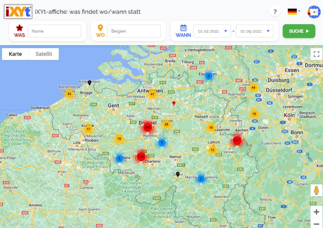 Belgien: Was ist in verschiedenen Städten zu sehen, was sind sie?