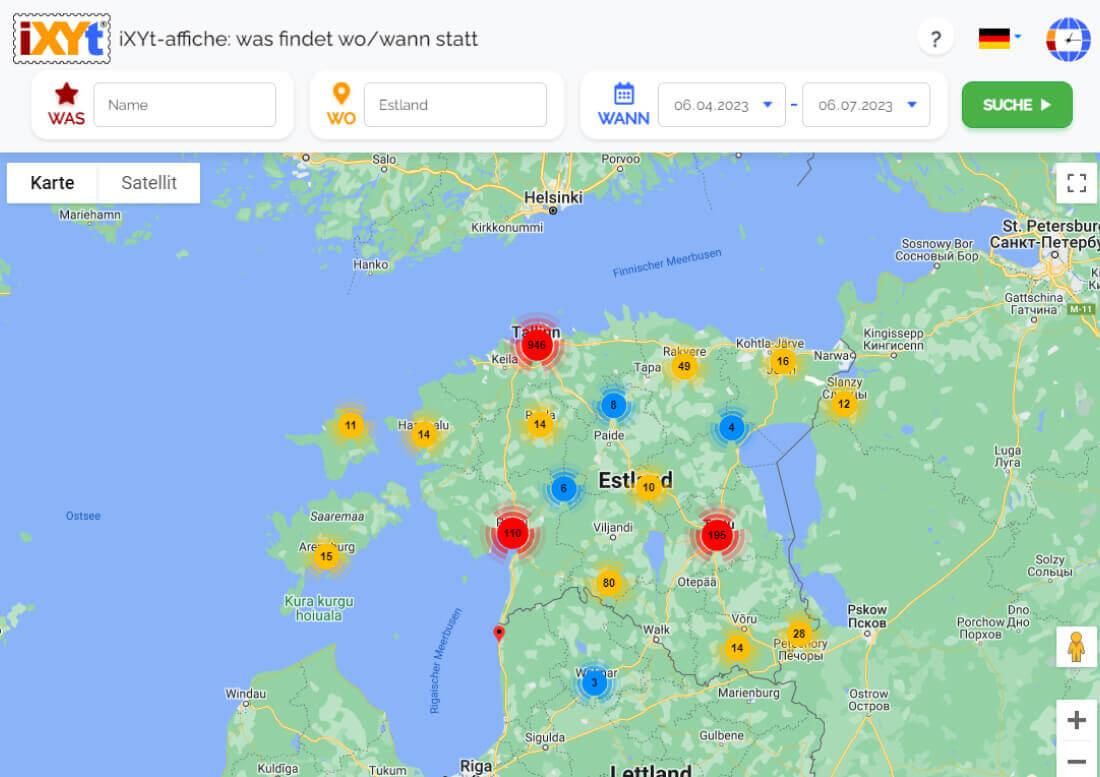 Estland: Was ist in verschiedenen Städten zu sehen, was sind sie?