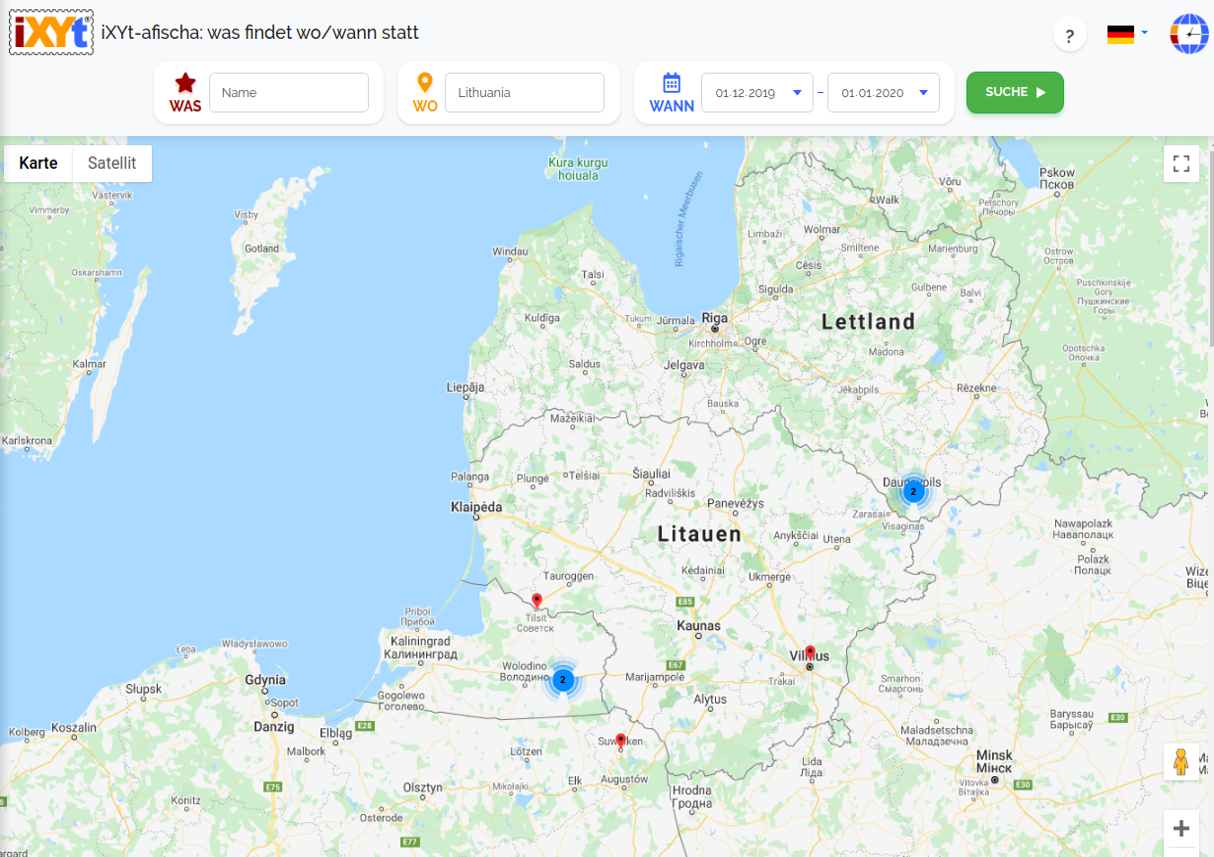 Litauen: Was ist in verschiedenen Städten zu sehen, was sind sie?