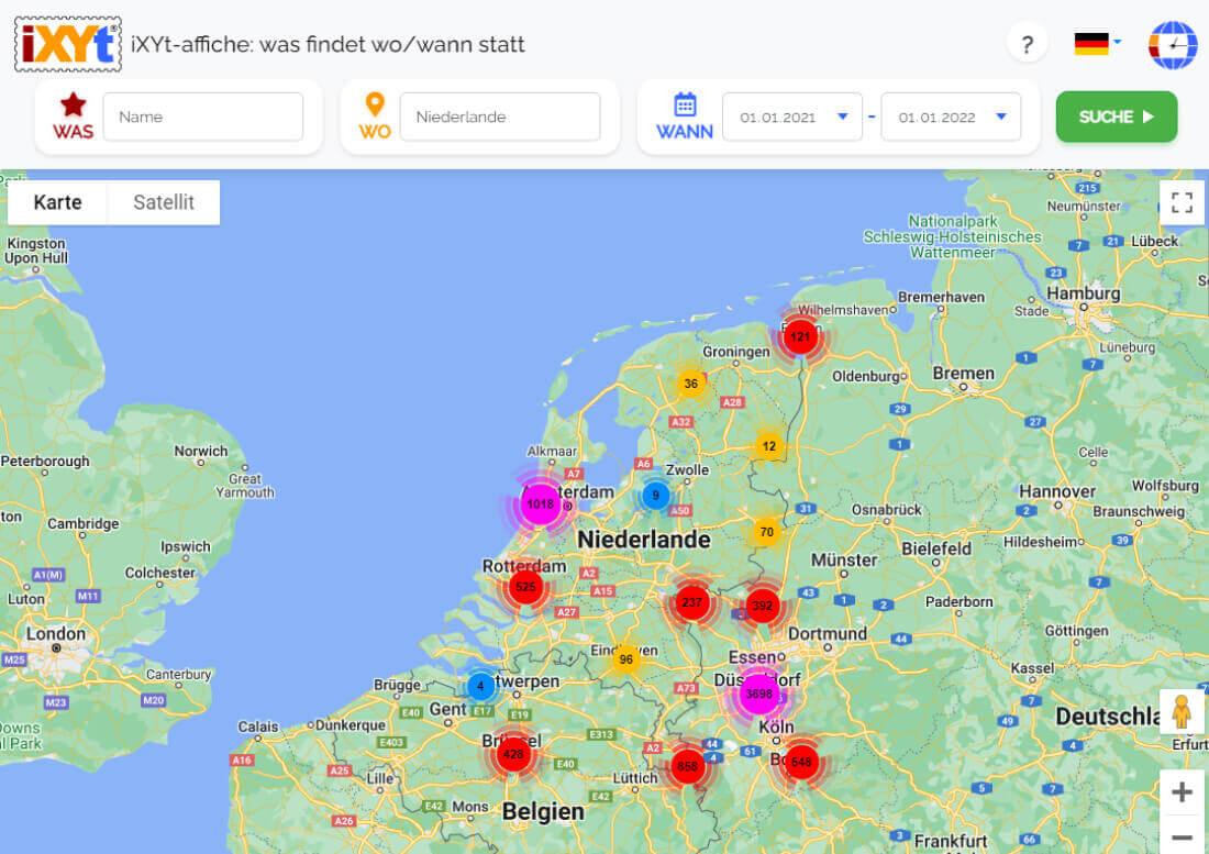 Niederlande: Was ist in verschiedenen Städten zu sehen, was sind sie?