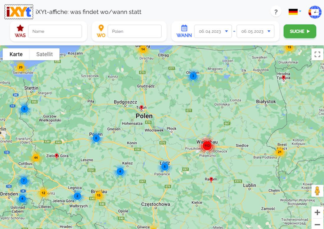 Polen: Was ist in verschiedenen Städten zu sehen, was sind sie?