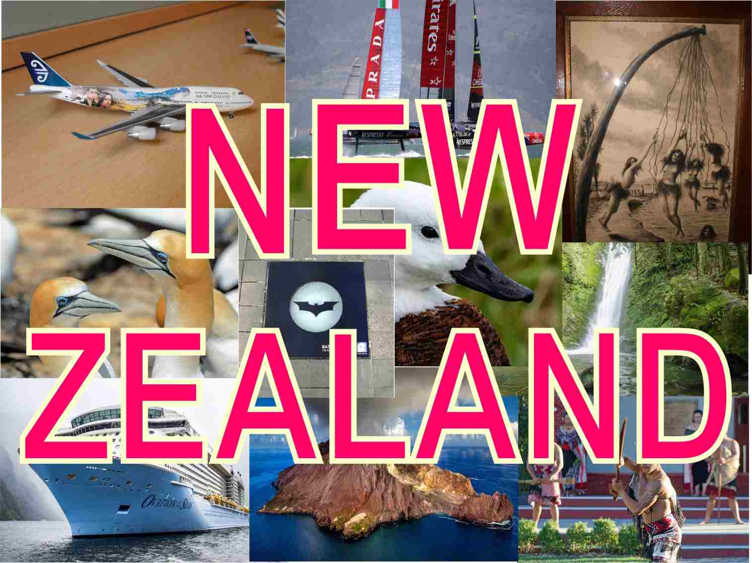 New Zealand: what to see in different cities, what are they